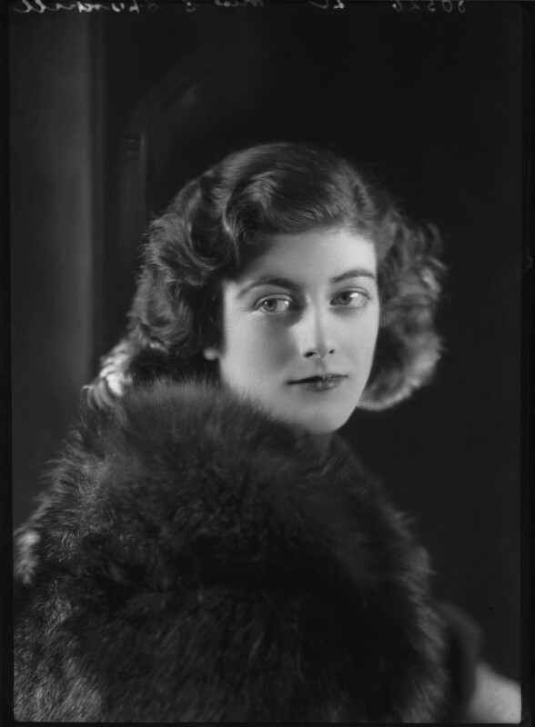 Sarah Churchill, by Bassano Ltd, 27 November 1935 - NPG x26660 - © National Portrait Gallery, London