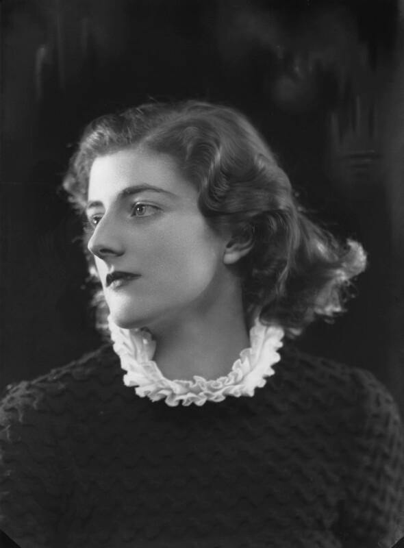 Sarah Churchill, by Bassano Ltd, 27 November 1935 - NPG x26663 - © National Portrait Gallery, London