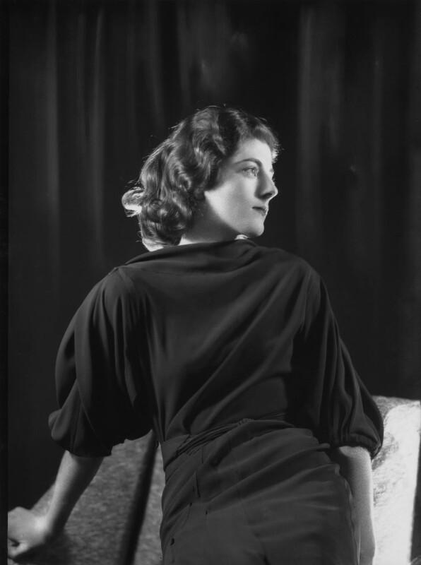 Sarah Churchill, by Bassano Ltd, 27 November 1935 - NPG x26667 - © National Portrait Gallery, London