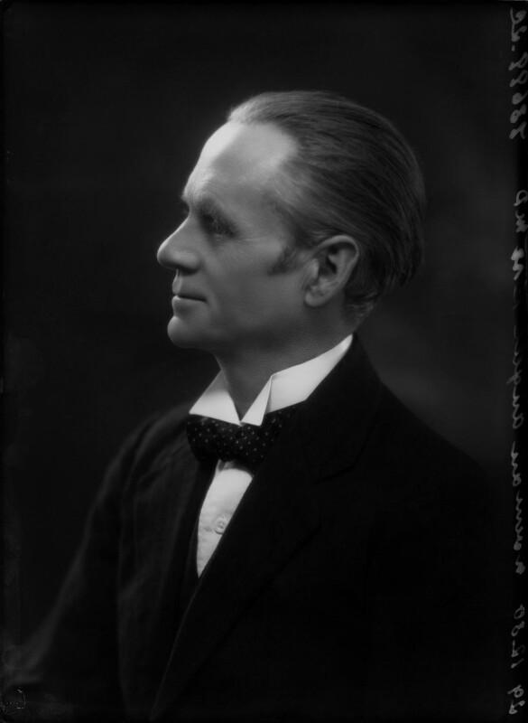 Sir (Ralph) Norman Angell (né Ralph Norman Angell Lane), by Bassano Ltd, 29 December 1930 - NPG x26742 - © National Portrait Gallery, London
