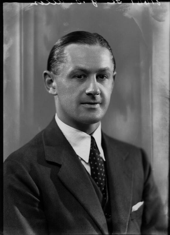 Gubby Allen, by Bassano Ltd, 27 June 1936 - NPG x26751 - © National Portrait Gallery, London