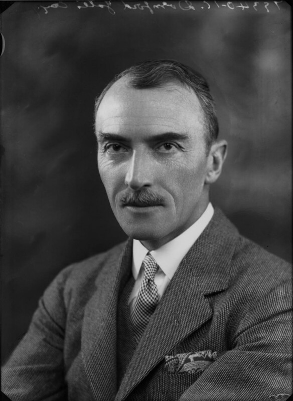 Dornford Yates (Cecil William Mercer), by Bassano Ltd, 18 February 1935 - NPG x26776 - © National Portrait Gallery, London