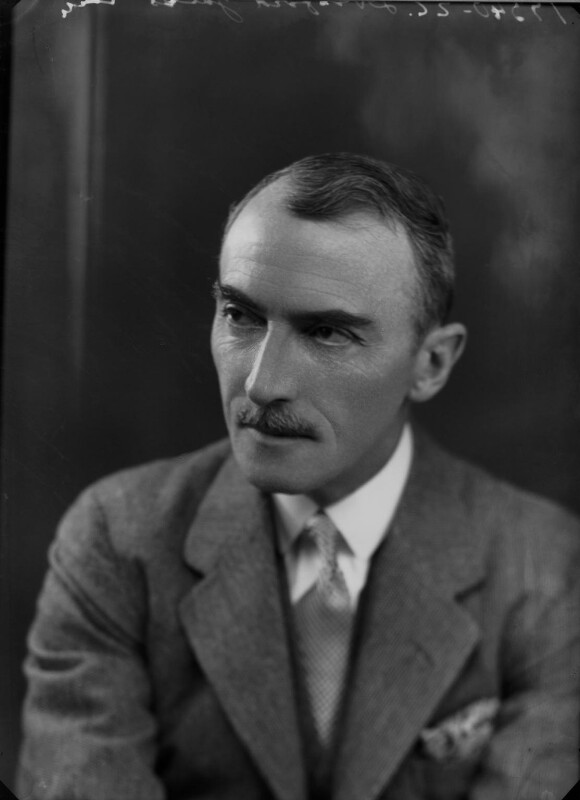 Dornford Yates (Cecil William Mercer), by Bassano Ltd, 18 February 1935 - NPG x26777 - © National Portrait Gallery, London