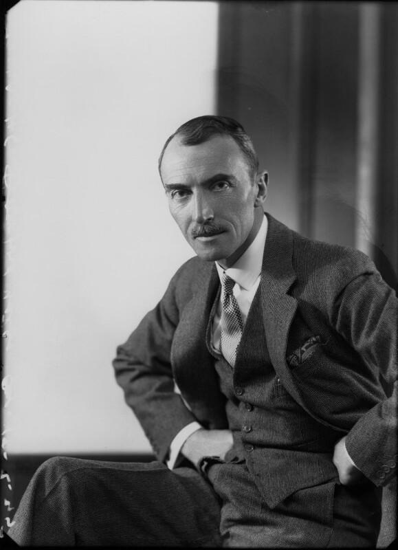 Dornford Yates (Cecil William Mercer), by Bassano Ltd, 18 February 1935 - NPG x26778 - © National Portrait Gallery, London