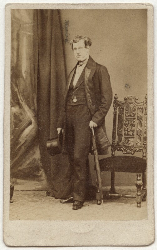 Sir James Emerson Tennent, 1st Bt, by Caldesi, Blanford & Co, early 1860s - NPG x26800 - © National Portrait Gallery, London
