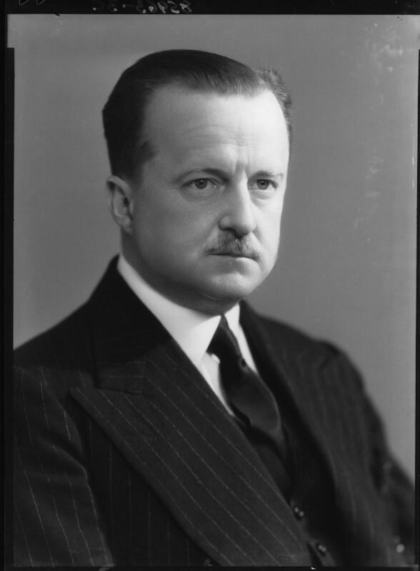 (Alfred) Duff Cooper, 1st Viscount Norwich, by Bassano Ltd, 13 June 1939 - NPG x26985 - © National Portrait Gallery, London