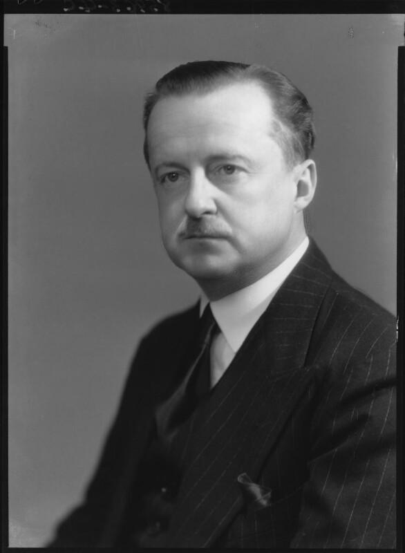 (Alfred) Duff Cooper, 1st Viscount Norwich, by Bassano Ltd, 13 June 1939 - NPG x26986 - © National Portrait Gallery, London