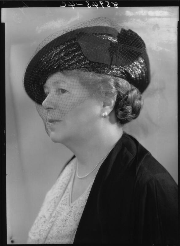 Naomi Gwladys Royde-Smith, by Bassano Ltd, 8 June 1939 - NPG x27030 - © National Portrait Gallery, London