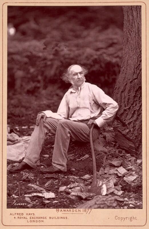 William Ewart Gladstone, by William Currey, 6 August 1877 - NPG x12503 - © National Portrait Gallery, London