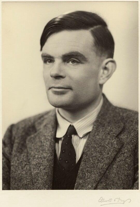 Alan Turing, by Elliott & Fry, 29 March 1951 - NPG x27078 - © National Portrait Gallery, London