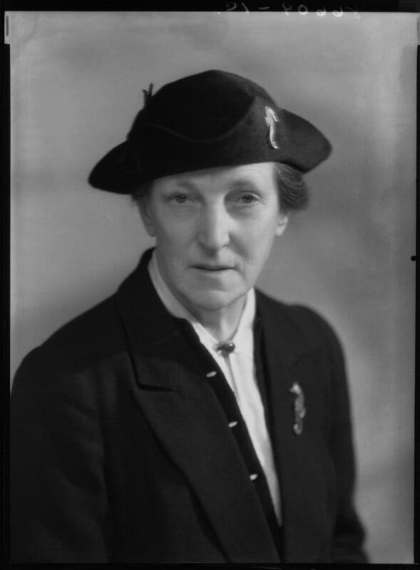 Dame Katharine Furse, by Bassano Ltd, 31 January 1940 - NPG x27093 - © National Portrait Gallery, London