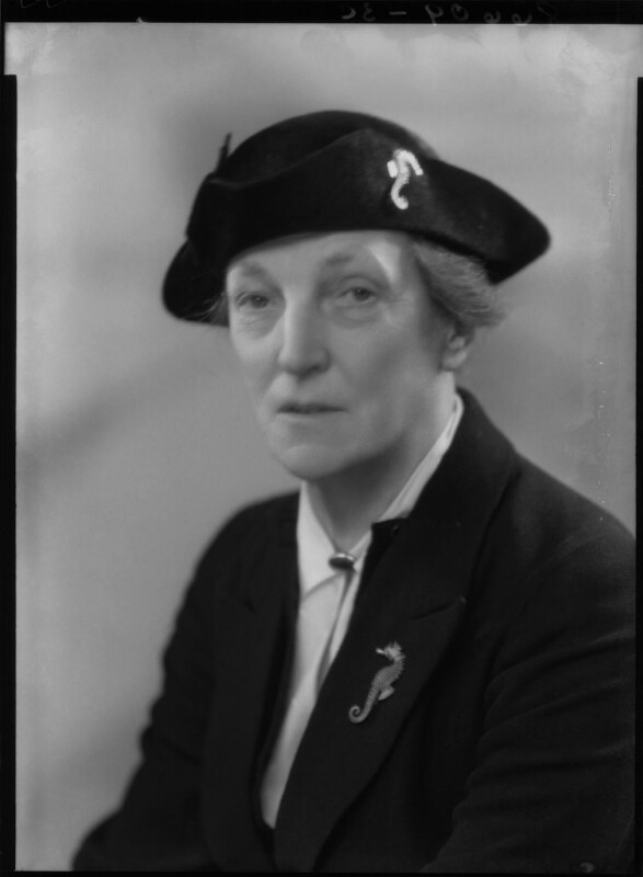 Dame Katharine Furse, by Bassano Ltd, 31 January 1940 - NPG x27095 - © National Portrait Gallery, London