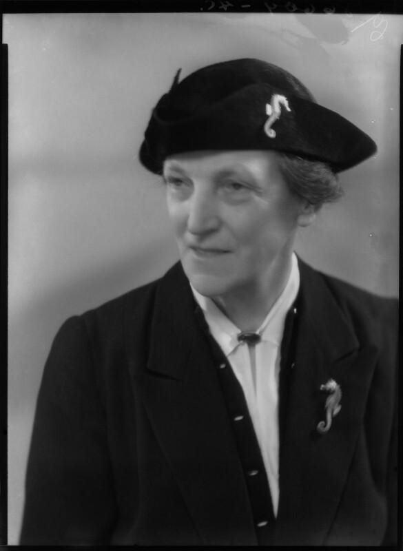Dame Katharine Furse, by Bassano Ltd, 31 January 1940 - NPG x27096 - © National Portrait Gallery, London