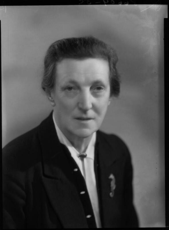 Dame Katharine Furse, by Bassano Ltd, 31 January 1940 - NPG x27097 - © National Portrait Gallery, London