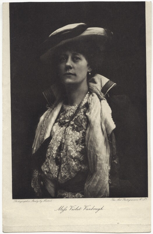 Violet Vanbrugh (Violet Augusta Mary Barnes), by Art Photogravure Co Ltd, after  Ernest Walter Histed, early 1900s - NPG x27119 - © National Portrait Gallery, London