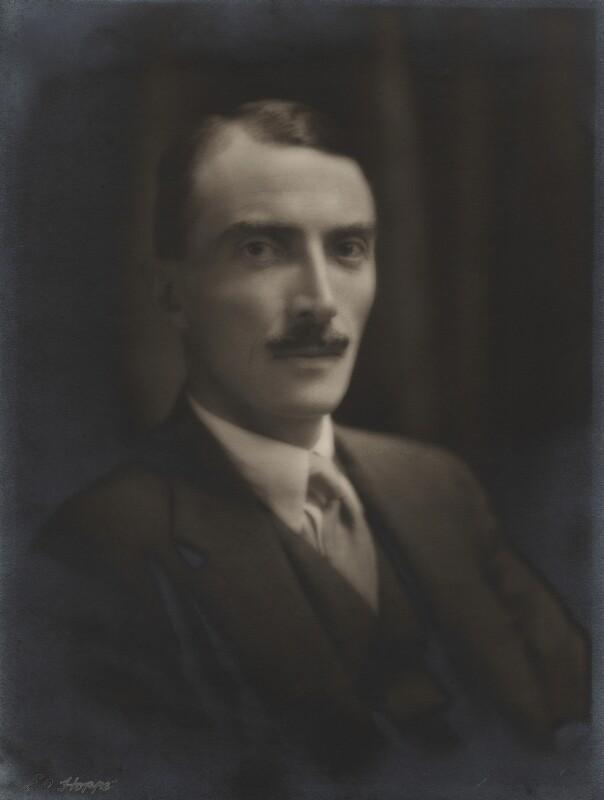 Dornford Yates (Cecil William Mercer), by E.O. Hoppé, 1926 - NPG x27144 - © 2018 E.O. Hoppé Estate Collection / Curatorial Assistance Inc.