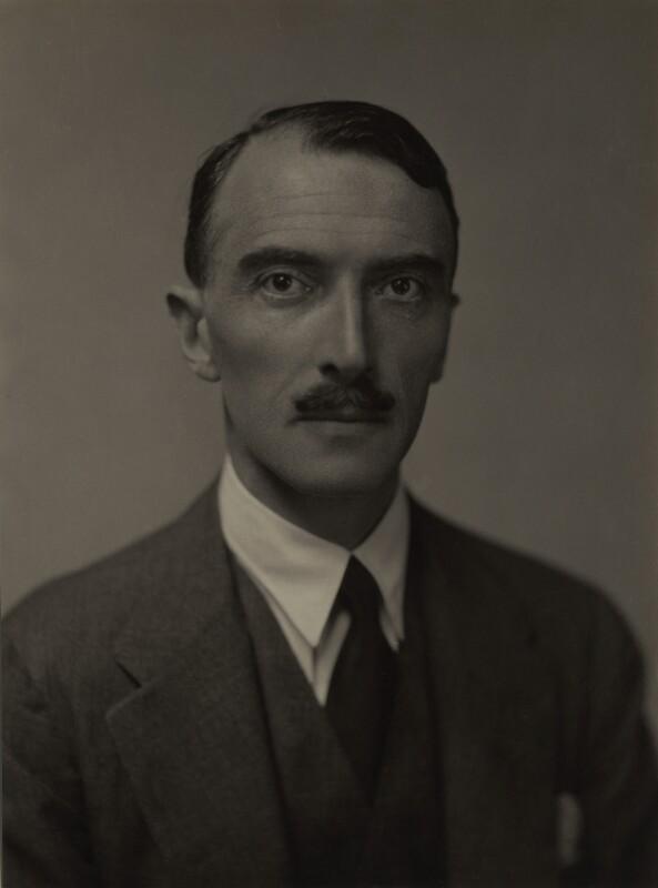 Dornford Yates (Cecil William Mercer), by Emil Otto ('E.O.') Hoppé, 1926 - NPG x27145 - © 2017 E.O. Hoppé Estate Collection / Curatorial Assistance Inc.