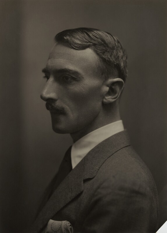 Dornford Yates (Cecil William Mercer), by Emil Otto ('E.O.') Hoppé, 1926 - NPG x27146 - © 2017 E.O. Hoppé Estate Collection / Curatorial Assistance Inc.