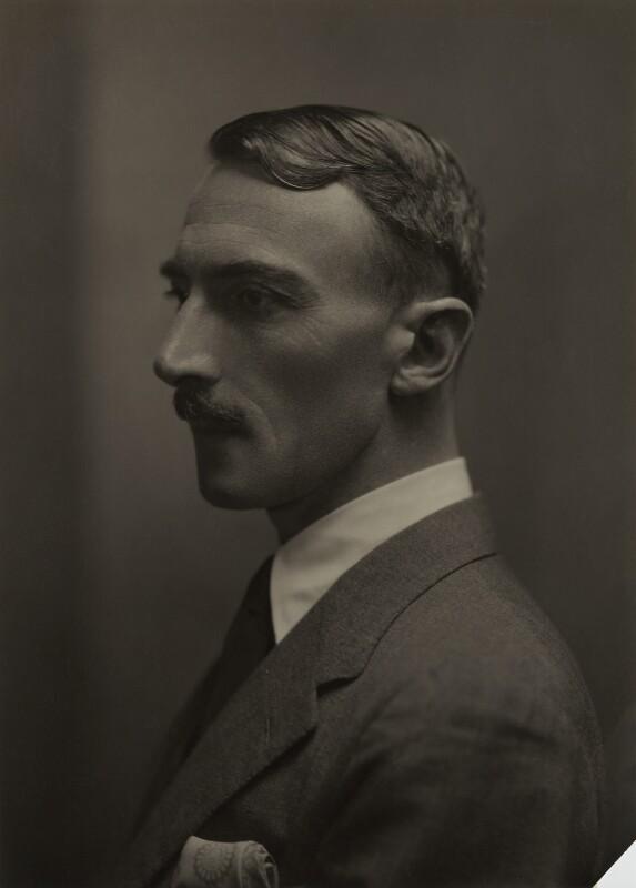 Dornford Yates (Cecil William Mercer), by Emil Otto ('E.O.') Hoppé, 1926 - NPG x27146 - © 2017 E.O. Hoppé Estate Collection / Curatorial Assistance Inc.