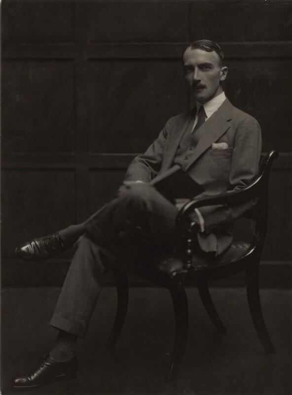 Dornford Yates (Cecil William Mercer), by Emil Otto ('E.O.') Hoppé, 1926 - NPG x27147 - © 2017 E.O. Hoppé Estate Collection / Curatorial Assistance Inc.