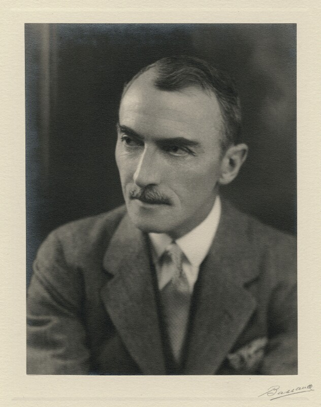 Dornford Yates (Cecil William Mercer), by Bassano Ltd, 18 February 1935 - NPG x27148 - © National Portrait Gallery, London