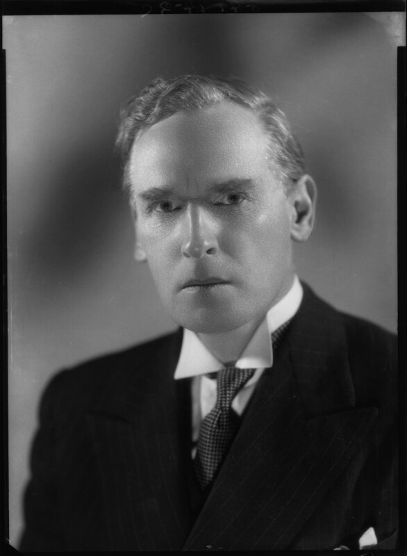 Cyril Edward Asquith, by Bassano Ltd, 5 April 1938 - NPG x27180 - © National Portrait Gallery, London