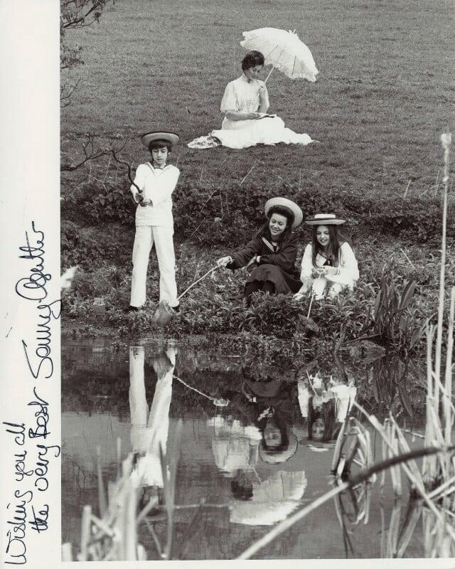 Jenny Agutter; Sally Thomsett; Dinah Sheridan; Gary Warren in The Railway Children, by Unknown photographer, 1970 - NPG x272 - © reserved; National Portrait Gallery, London
