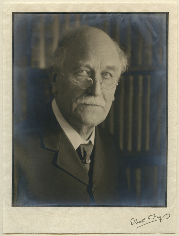 Sir Emery Walker, by Walter Benington, for  Elliott & Fry, circa 1926 - NPG x27214 - © National Portrait Gallery, London