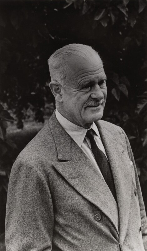 Archibald Percival Wavell, 1st Earl Wavell, by Edward George Spencer Churchill, circa 1957 - NPG x27306 - © reserved; collection National Portrait Gallery, London