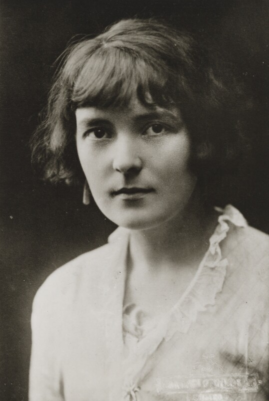 Katherine Mansfield, by Adelphi Studios Ltd, copied by  Emery Walker Ltd, 1913 - NPG x88511 - © National Portrait Gallery, London