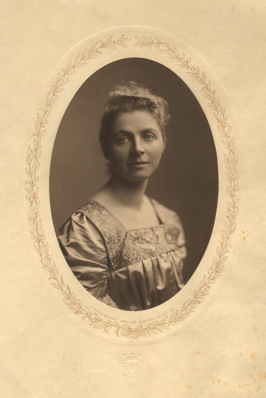 Emily Hobhouse, by Henry Walter ('H. Walter') Barnett, 1902 - NPG x15582 - © National Portrait Gallery, London