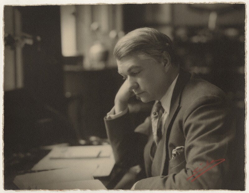 John Drinkwater, by Sasha (Alexander Stewart), June 1928 - NPG x28338 - © Hulton Archive/Getty Images