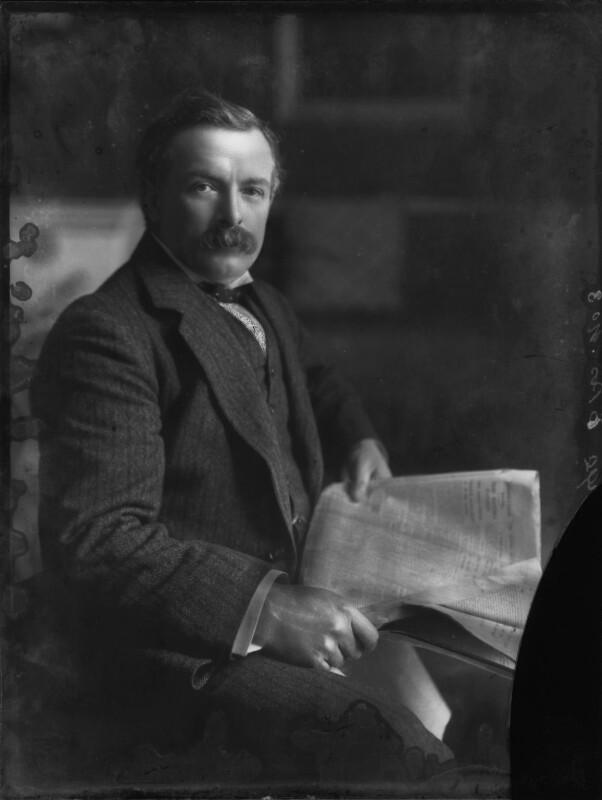 David Lloyd George, by Bassano Ltd, 24 November 1910 - NPG x28362 - © National Portrait Gallery, London