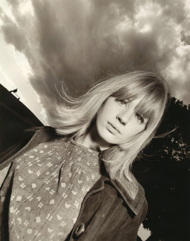 Marianne Faithfull, by David Bailey, 1964 - NPG x28723 - © David Bailey