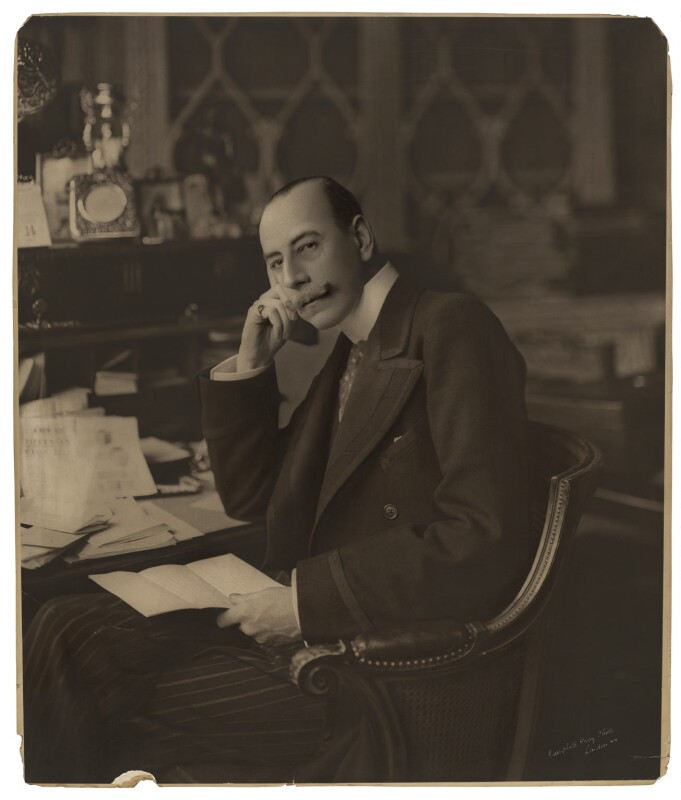 Lewis Harcourt, 1st Viscount Harcourt, by Campbell-Gray, circa 1906-1908 - NPG x28731 - © National Portrait Gallery, London