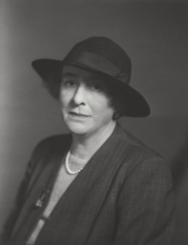 Vita Sackville-West, by Walter Stoneman, 1957 - NPG x28912 - © National Portrait Gallery, London