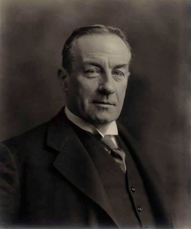 Stanley Baldwin, 1st Earl Baldwin, by Vandyk, 1 February 1927 - NPG x29061 - © National Portrait Gallery, London