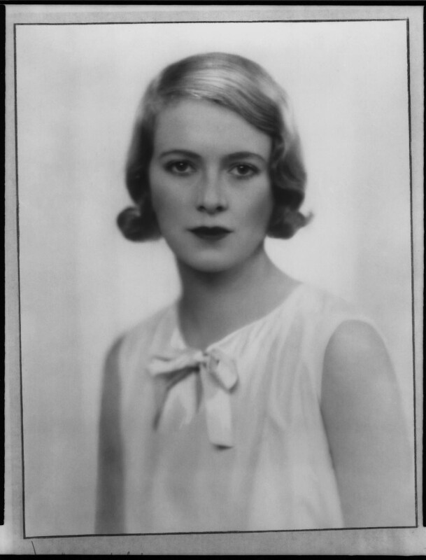 Sylvia (née Hawkes), Lady Ashley, by Dorothy Wilding, 1932 - NPG x29438 - © William Hustler and Georgina Hustler / National Portrait Gallery, London