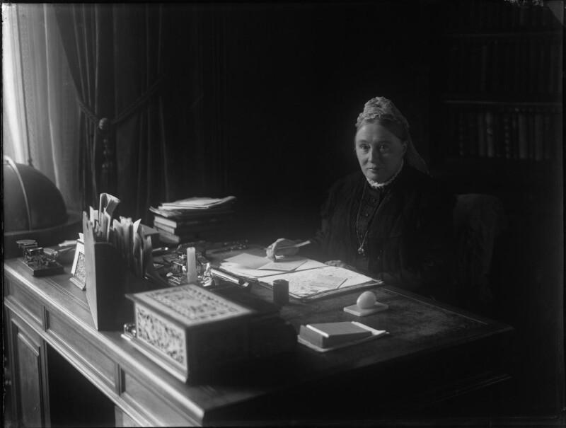 Sophia Louisa Jex-Blake, by Margaret G. Todd, 1880s-1890s - NPG x29548 - © National Portrait Gallery, London