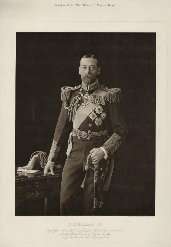 King George V, by Langfier Ltd, published 1911 - NPG x29591 - © National Portrait Gallery, London