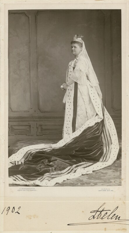 Princess Helen, Duchess of Albany, by Julius Cornelius Schaarwächter, 1902 - NPG x29729 - © National Portrait Gallery, London