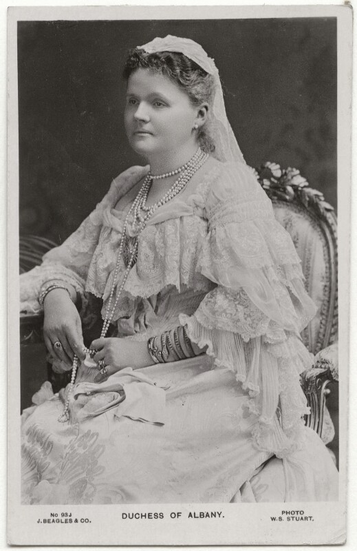 Princess Helen, Duchess of Albany, by William Slade Stuart, published by  J. Beagles & Co, circa 1906 - NPG x29859 - © National Portrait Gallery, London
