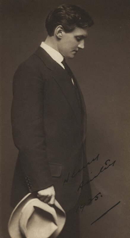 Henry Hinchliffe Ainley, by Lizzie Caswall Smith, 1925 - NPG x29892 - © National Portrait Gallery, London