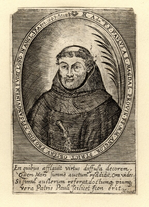 Henry Heath ('Paul of St Magdalen'), by Martin Baes (Bas, Basse, Bassius), published 1649 - NPG D10632 - © National Portrait Gallery, London