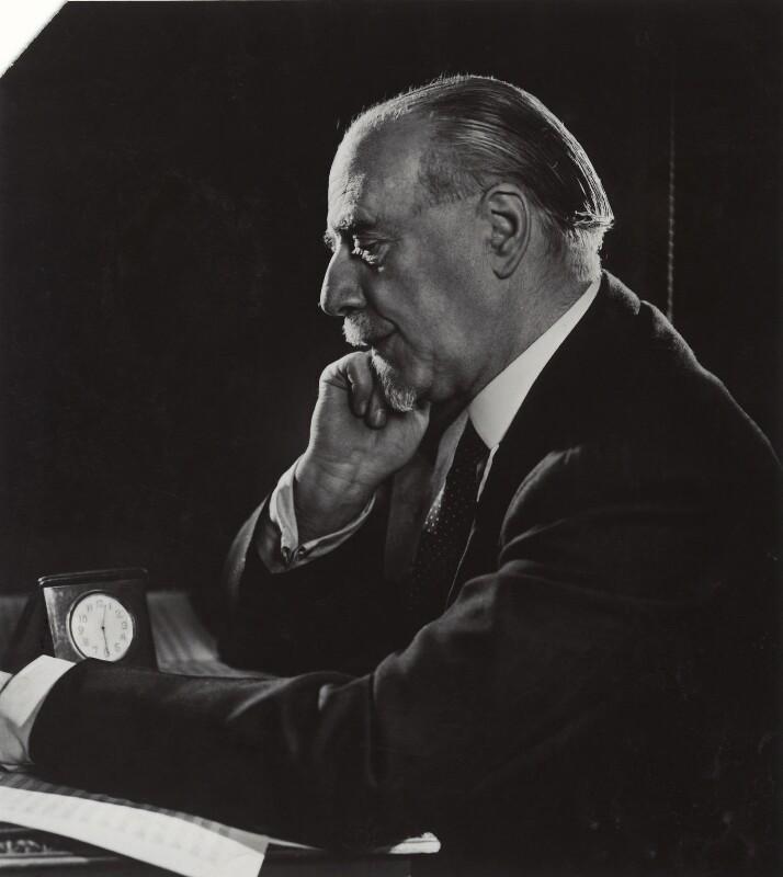 Sir Thomas Beecham, 2nd Bt, by Yousuf Karsh, 1946 - NPG x30412 - © Karsh / Camera Press
