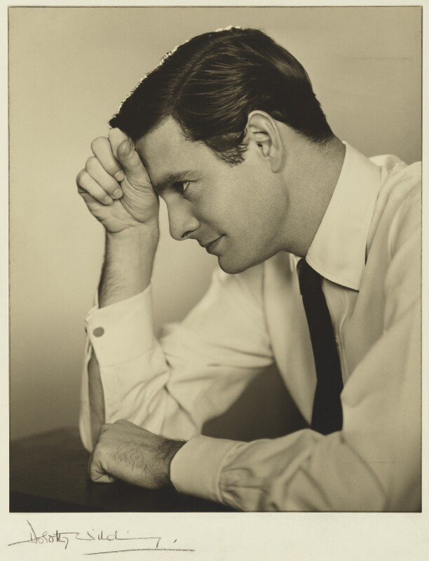 Louis Jourdan, by Dorothy Wilding, 12 April 1954 - NPG x30490 - © National Portrait Gallery, London