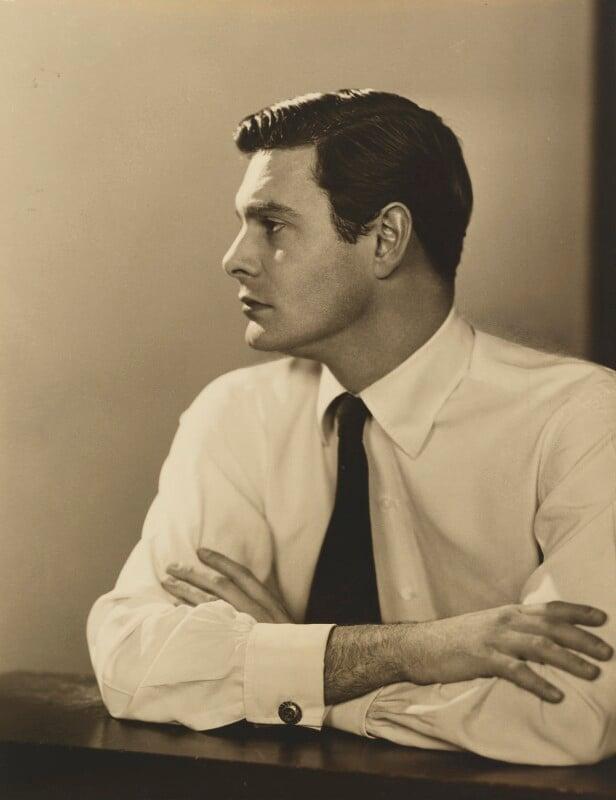 Louis Jourdan, by Dorothy Wilding, 12 April 1954 - NPG x30491 - © National Portrait Gallery, London