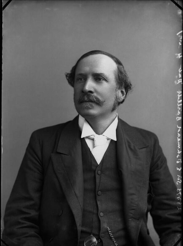 Sir Ellis Ashmead-Bartlett, by Alexander Bassano, circa 1898 - NPG x30508 - © National Portrait Gallery, London