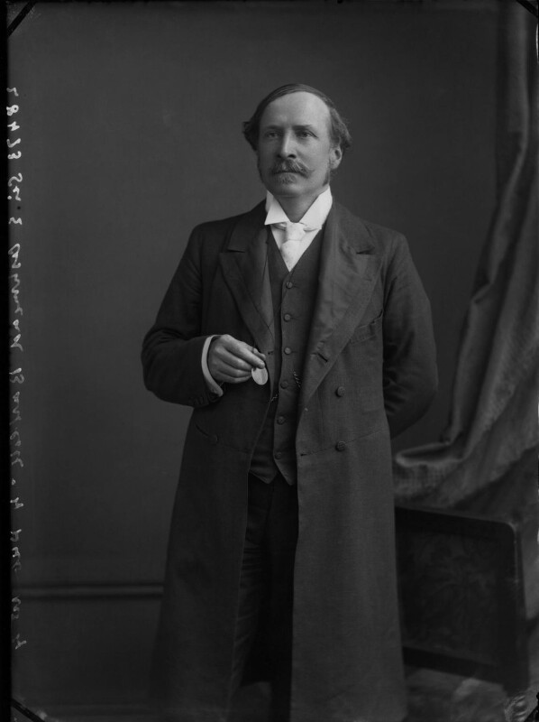 Sir Ellis Ashmead-Bartlett, by Alexander Bassano, circa 1898 - NPG x30511 - © National Portrait Gallery, London
