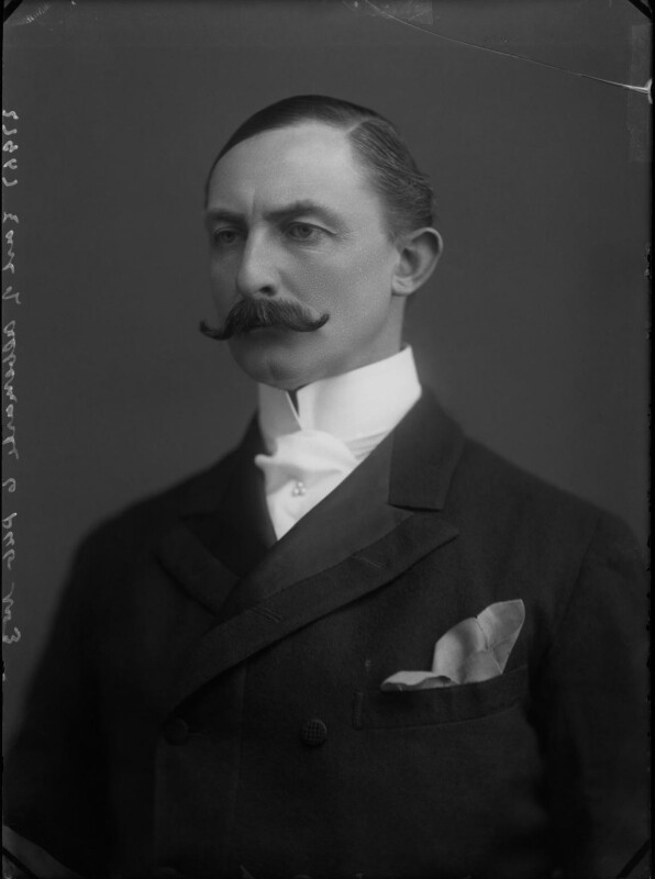 Arnold Allan Keppel, 8th Earl of Albemarle, by Alexander Bassano, circa 1897 - NPG x30536 - © National Portrait Gallery, London